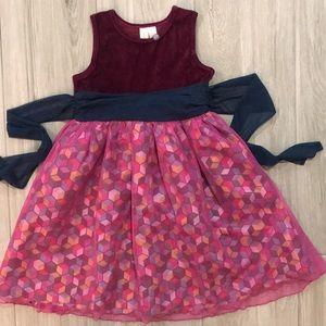 Matilda Jane Dress with Tulle Bottom Size 10